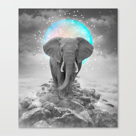 Strength & Courage Canvas Print
