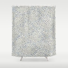 Circles I Shower Curtain