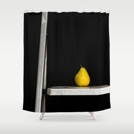 a pear of ladders Shower Curtain