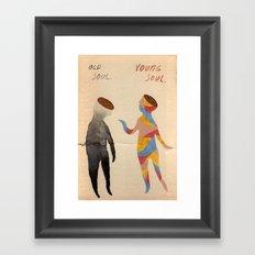 Old Soul, Young Soul Framed Art Print