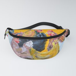 Chickens of Many Colors Fanny Pack