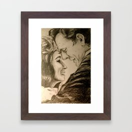 I Want To Love Like Johnny And June Framed Art Print