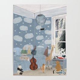 little bedroom Poster