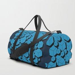 3D Futuristic Cubes VIII Duffle Bag