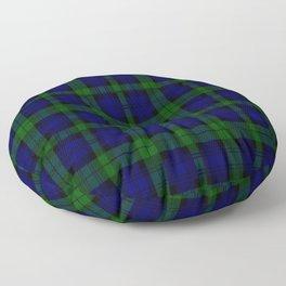 "CAMPBELL CLAN  ""BLACK WATCH"" SCOTTISH  TARTAN DESIGN Floor Pillow"