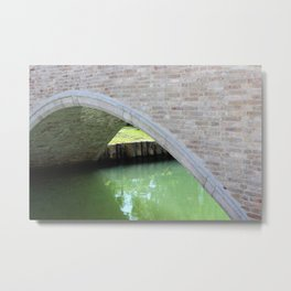 Turano Island Bridge Metal Print
