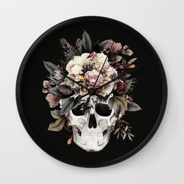 Sugar Skull (Winter) Wall Clock