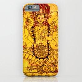 Hindu Kali 23 iPhone Case