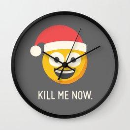 Season's Gratings Wall Clock