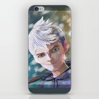 jack frost iPhone & iPod Skins featuring Jack Frost by Elisehill3