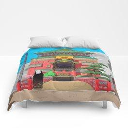 Spirited Away - Pixel Art Comforters