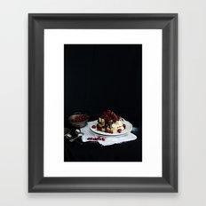 Tentación. Framed Art Print