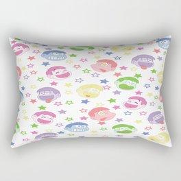 Six Same Faces Rectangular Pillow