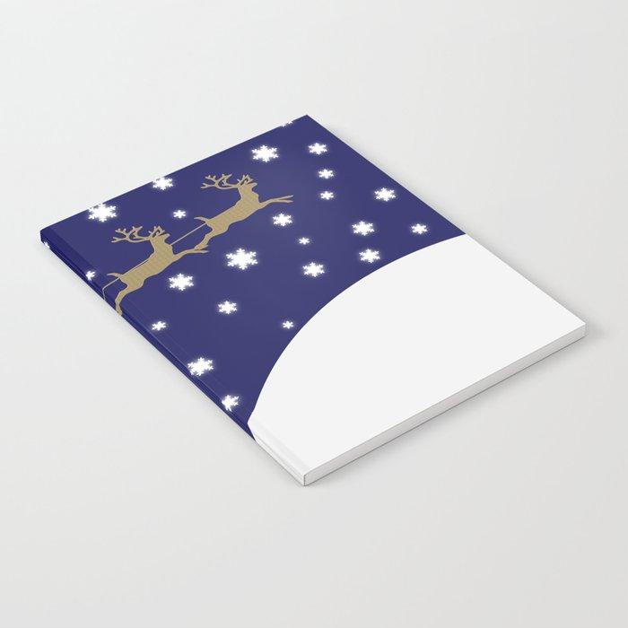 Christmas Santa Claus Notebook