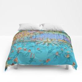 Szechenyi bath Budpest Comforters