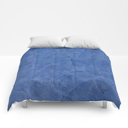 Tuscan Blue Plaster | Corbin Henry | Faux Finishes Comforters