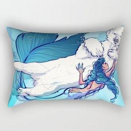 arctic mermaid Rectangular Pillow