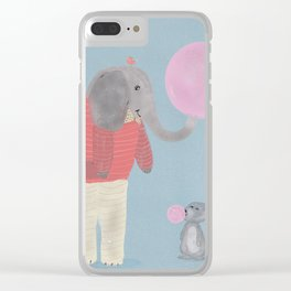 bubble fun Clear iPhone Case
