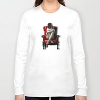 darth Long Sleeve T-shirts featuring Darth by EarlyHuman
