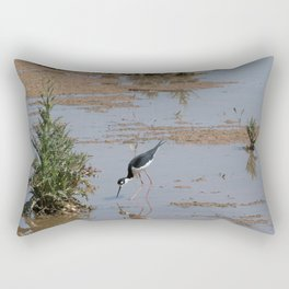 Self Reflection Rectangular Pillow