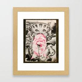 faint heart Framed Art Print