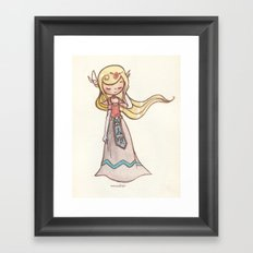 Zelda Framed Art Print