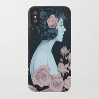 helen iPhone & iPod Cases featuring Helen by Mike Ferrari