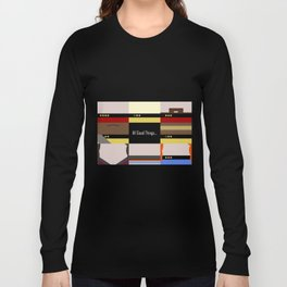 TNG - All Good Things - Minimalist Star Trek TNG The Next Generation 1701 D  startrek  Trektangles Long Sleeve T-shirt