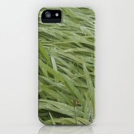 California Grass & Dew iPhone Case