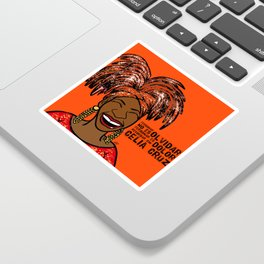 La Reina Celia Cruz Sticker