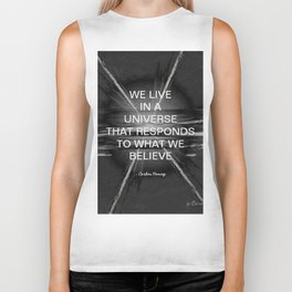 We Live In A Universe Quote - Society6 - Art - Luxury - Comforter - Bedding - Throw Pillows - Laptop Biker Tank