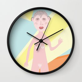 Severed Parts Wall Clock