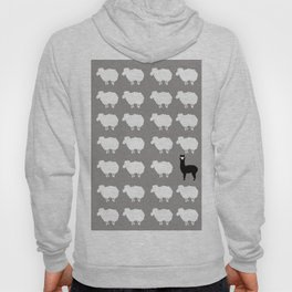 Don't be a sheep, Be a Llama Hoody
