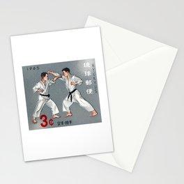 1965 RYUKYUS Karate Kumite Stamp Stationery Cards