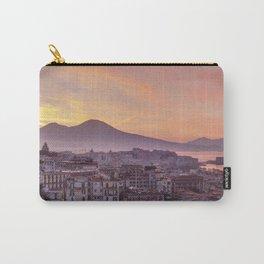 Napoli, landscape with volcano Vesuvio and sea Carry-All Pouch