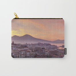Napoli, landscape with volcano Vesuvio and sea Carry-All Pouch