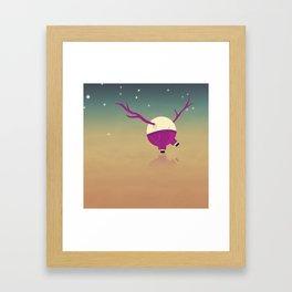 Swangin Framed Art Print