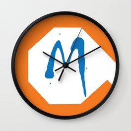 Monster M Wall Clock