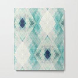 pastel art, pastel abstract, watercolor art print, Abstract art, blue abstract, abstract print Metal Print