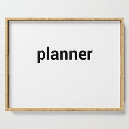 planner Serving Tray