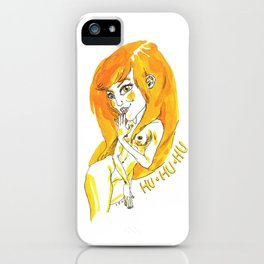 HU HU HU iPhone Case