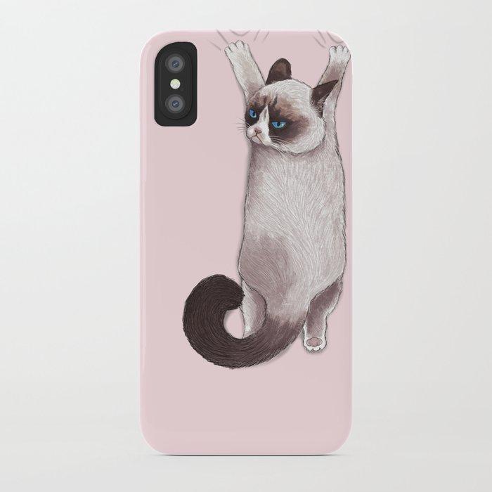 Grumpy Hang iPhone Case