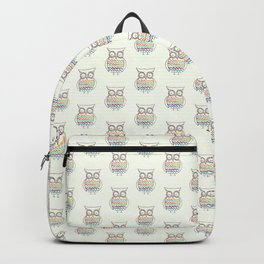Chevron Owl Backpack