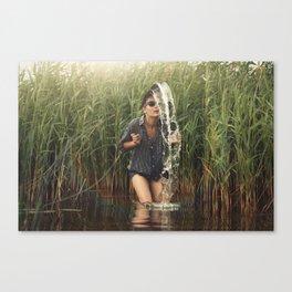 Ima Fountain Canvas Print