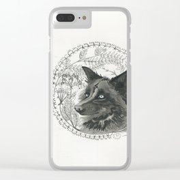 flora&fauna Clear iPhone Case