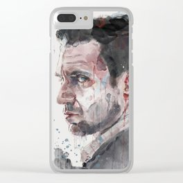 Dr. Chilton Clear iPhone Case
