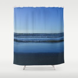 North Sea view from Wenduine Shower Curtain