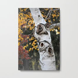The Owl Tree Metal Print