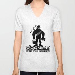 Wookiee Wash Wax and Shine Unisex V-Neck