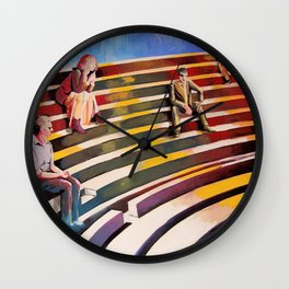 Officina di Faust Wall Clock